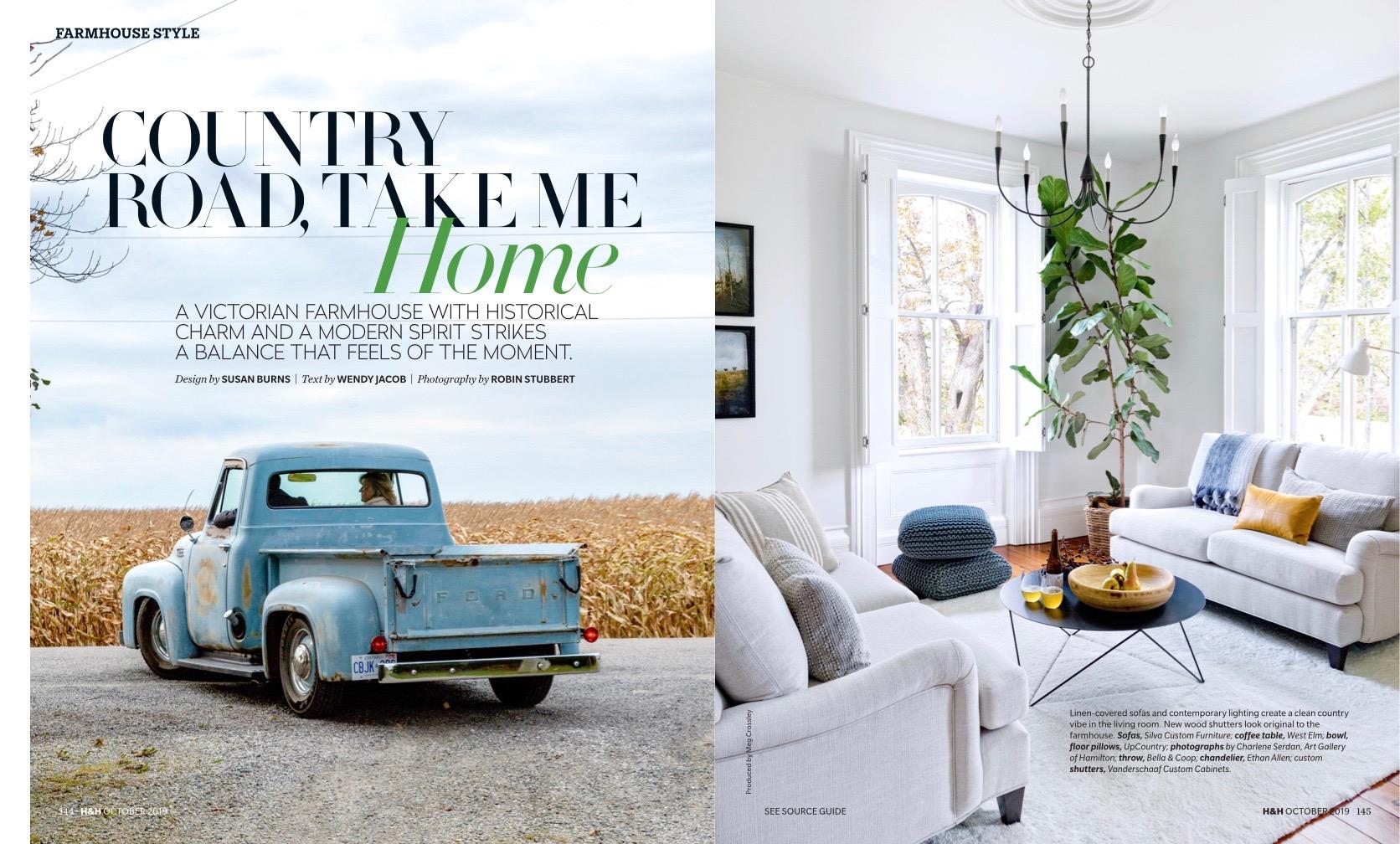 House And Home Susan Burns Design